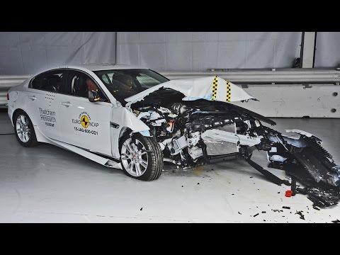 Jaguar XE Crash Tests