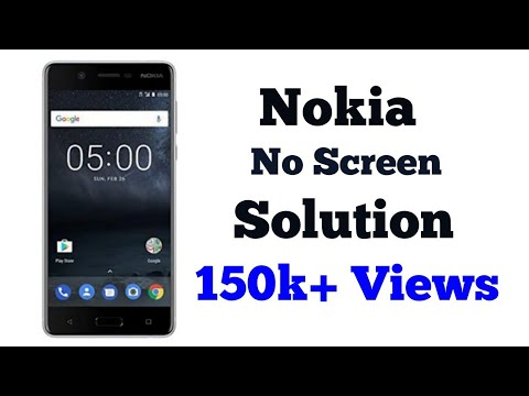 Nokia 6 /5/3/2 screen blank phone working  how to fix how to force restart