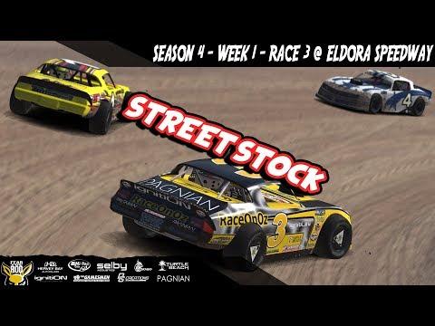 iRacing DIRTcar Class C Street Stocks Week 1 Race 3 @ Eldora Speedway
