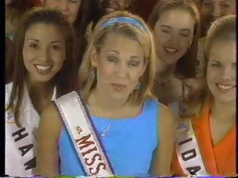 MISS TEEN USA 1996 INTERVIEWS & SPECIAL PERFORMANCE