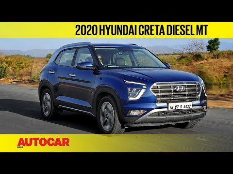 2020 Hyundai Creta 1 5 Diesel Mt Review The Practical One First Drive Autocar India Youtube