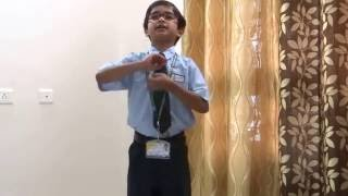 Gambar cover Best poem on Mother | Mera Adarsh recited by Adyant Kaushal Prasad | Kenndy High