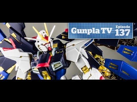 Gunpla TV - 137 - RG Strike Freedom! Nu Gundam Titanium! - Hlj