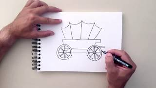 How to Draw a Wagon