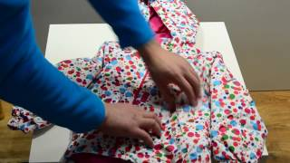 Куртка детская зимняя. Германия - девочка. Обзор 34 Lupilu Topolino Palomino HM CA Rodeo куртки
