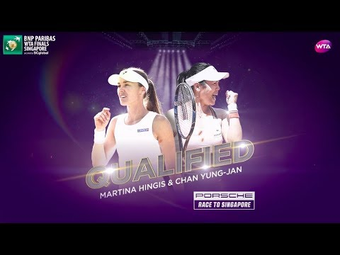 Hingis and Chan qualify for the WTA Finals