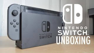 Nintendo Switch [Grey] Unboxing!