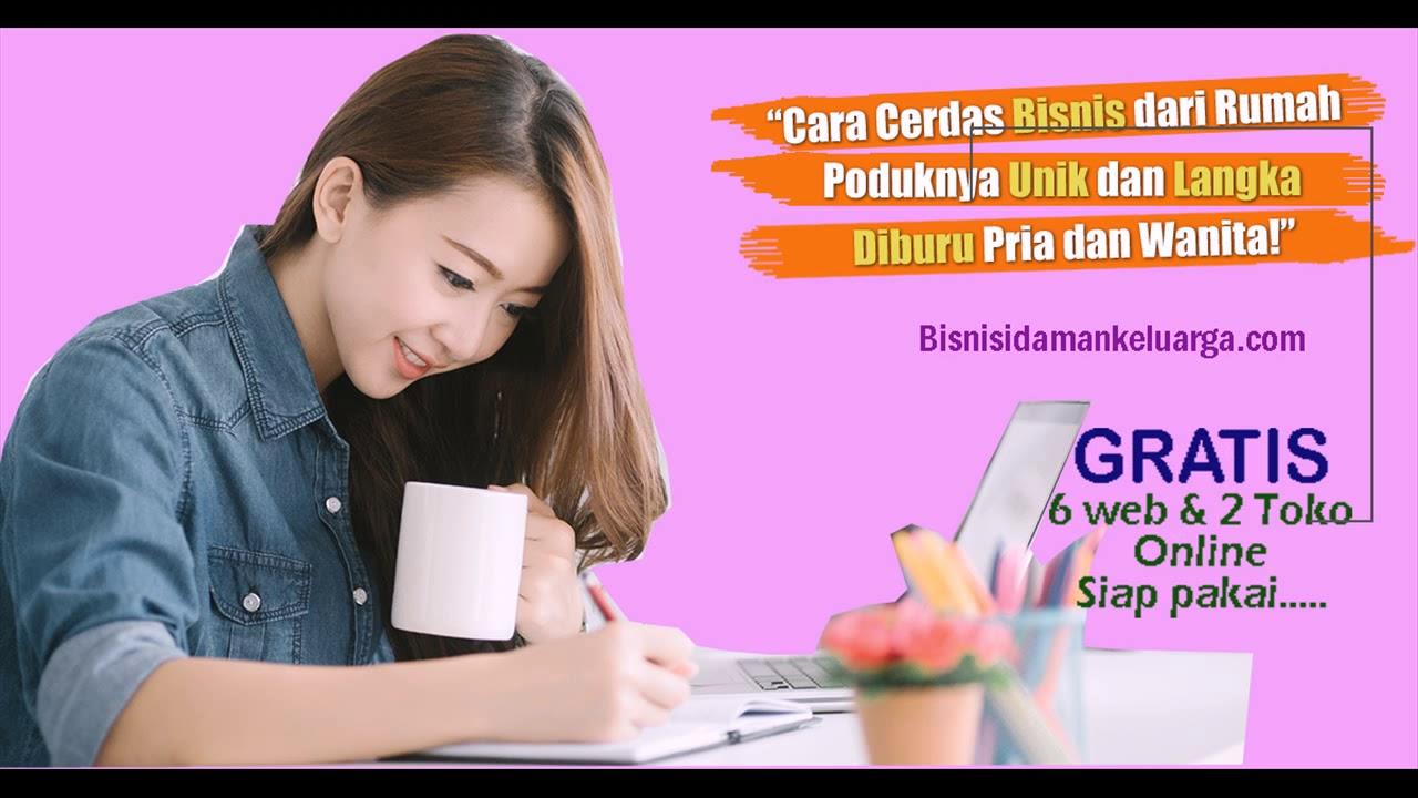 peluang bisnis Buat ibu rumah tangga GRATIS website & Toko ...