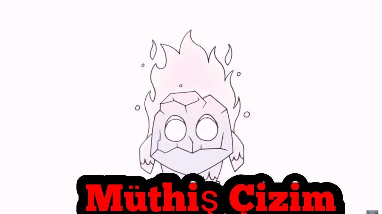 Clash Royale Ateş Ruhu çizimi Resim Dersi Youtube