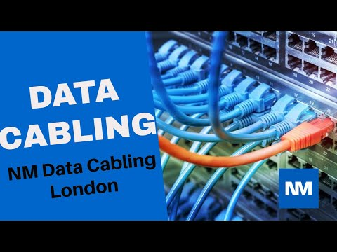Data cabling London and Network Cabling London by NM Cabling Solutions.