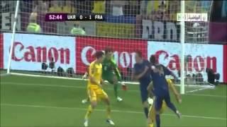 [EURO 2012] Ukraine 0-2 France : Les buts français commenté par RMC (15/06/2012)