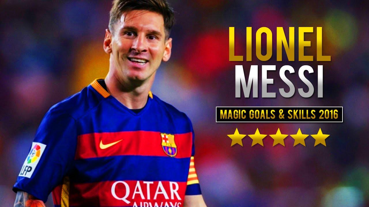 Lionel Messi Magic Goals & Skills 2015/16 HD - YouTube