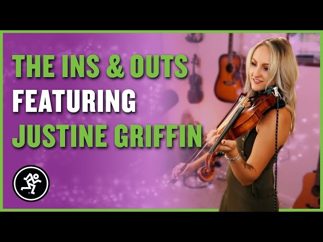 Justine Griffin - The Ins & Outs With Mackie Episode 10