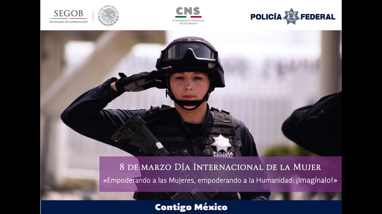 Mujeres En La Policia Federal Youtube