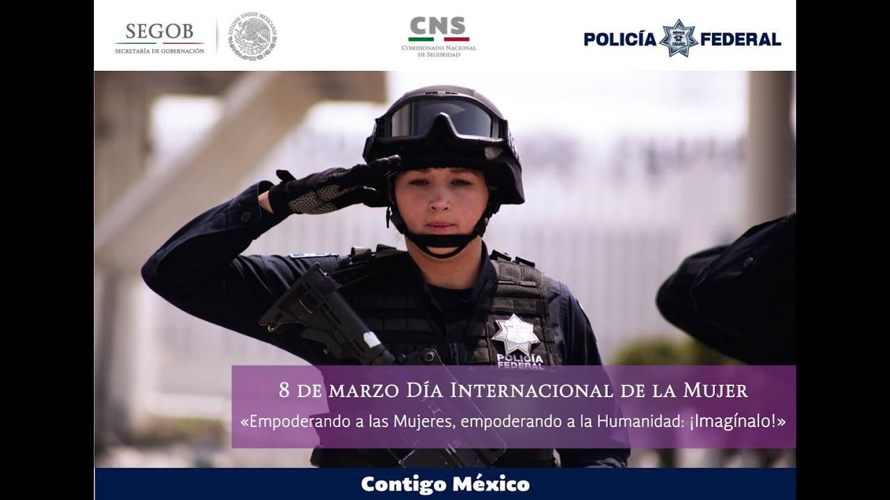 Mujeres En La Policia Federal Youtube
