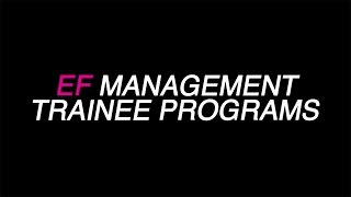 work at ef our management trainee programs