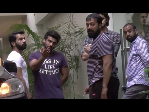 Arjun Kapoor, Rajkumar Rao And Anurag Kashyap Spotted At Sunny Super Sound