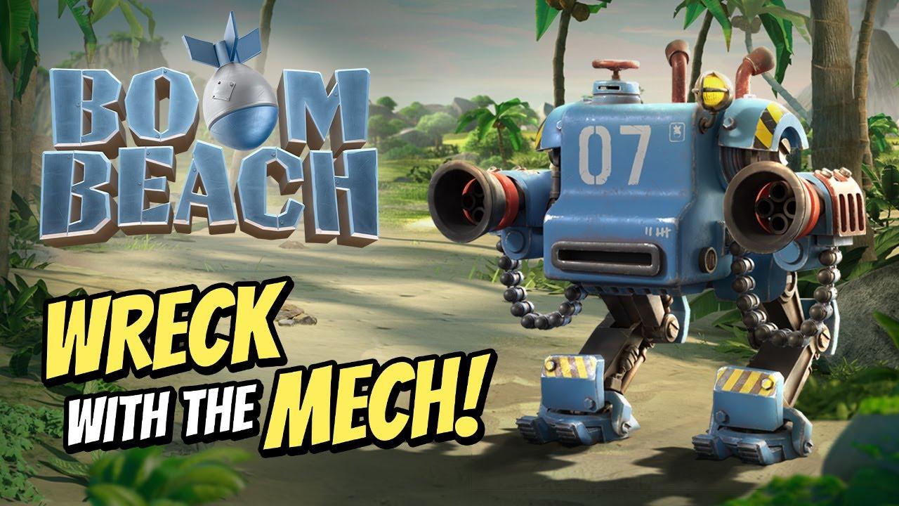 Boom Beach: Mech!
