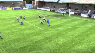 Highlights Dorchester v BURY TOWN (FA Cup 4 Q R)20-10-2012