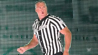 Blink and you'll miss Shane McMahon's custom SummerSlam referee jersey being created