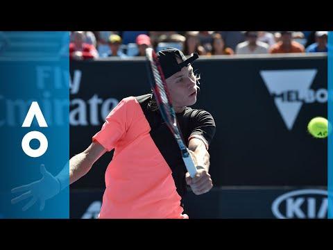 Stefanos Tsitsipas v Denis Shapovalov match highlights (1R) | Australian Open 2018