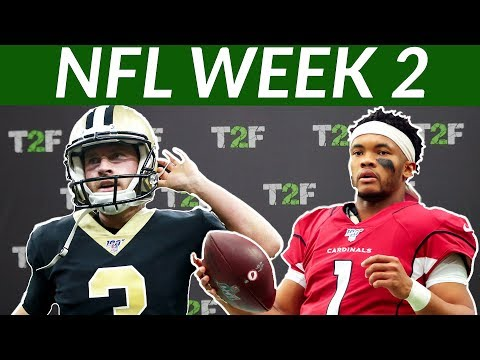 NFL WEEK 2  - Wil Lutz Is Savage | Kyler Comeback 2019
