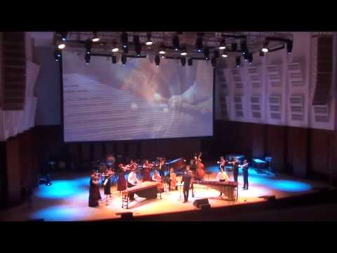 """Secret Garden """"Sanctuary""""  - for Two marimbas and strings orchestra"""