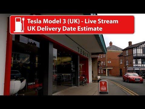 Tesla Model 3 - UK Delivery Dates - YouTube