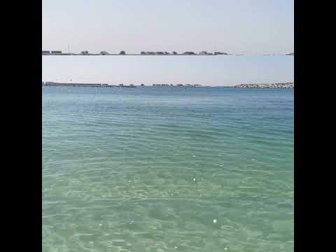 Crystal clear water #Jumeirah #Beach #Dubai #UAE #Shorts 2021