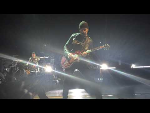 "U2 Barcelona ""The electric Co"" solo in my face!!"