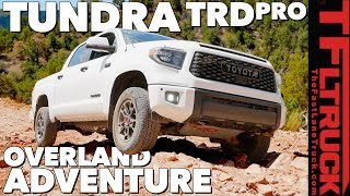 2019 Toyota Tundra TRD Pro Overland Offroad Review (Part 2 of 3)
