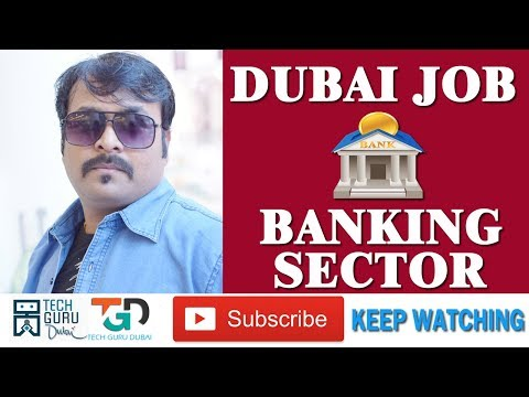 BANKING SECTOR, MONEY EXCHANGE, FINANCE JOBS IN DUBAI | HINDI URDU | TECH GURU DUBAI