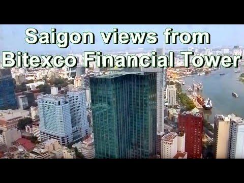 Skyline Saigon from Bitexco Financial Tower, Vietnam