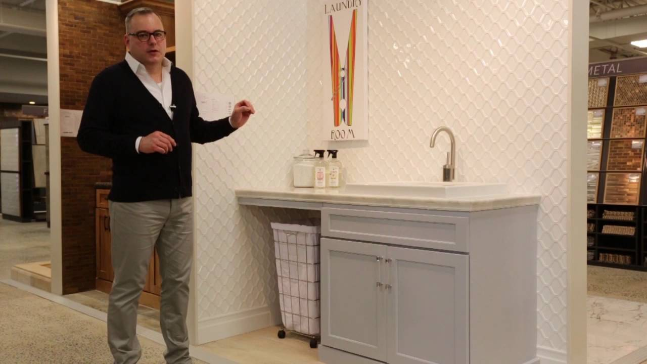 Design Your Own Laundry Room Mosaic Tile Ideas Youtube