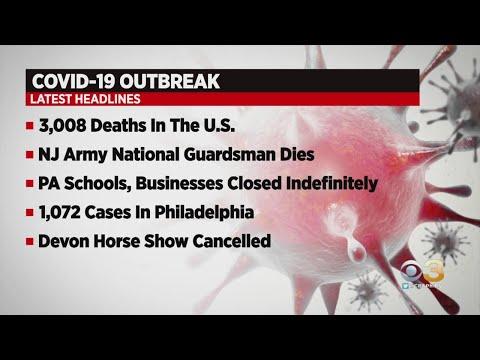 New Jersey Army National Guardsman Dies Of Coronavirus