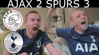 Ajax  2  Tottenham  3   Live Match Reaction| Lucas Moura Hatrick Sends Spurs To