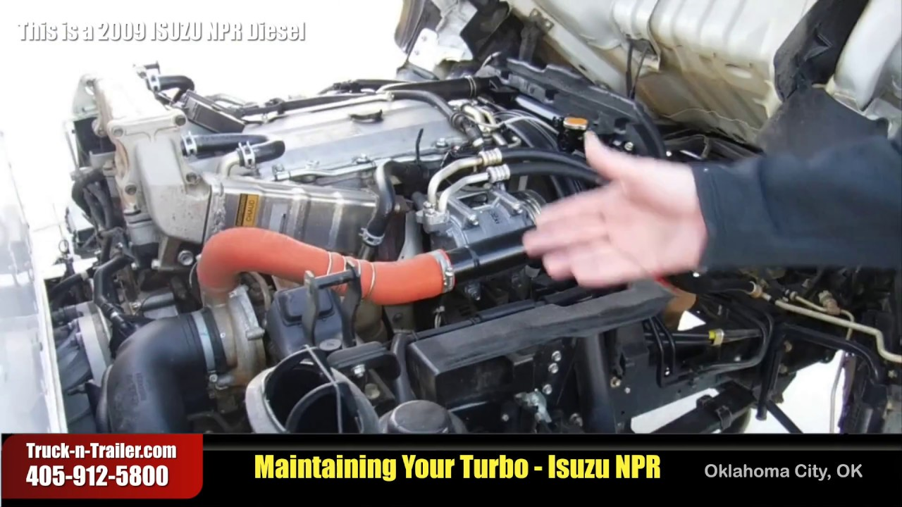 Turbo Preventative Maintenance, Isuzu NPR Diesel