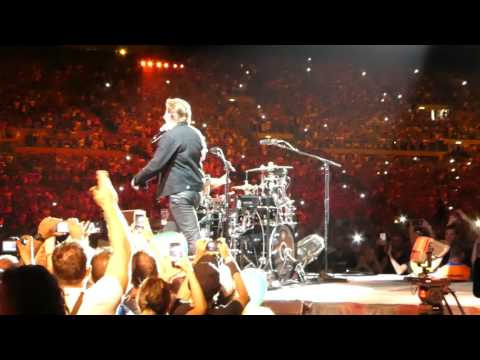 CONCERTO U2 ROMA STADIO OLIMPICO - SUNDAY BLOODY SUNDAY - Fronte palco, video 4K