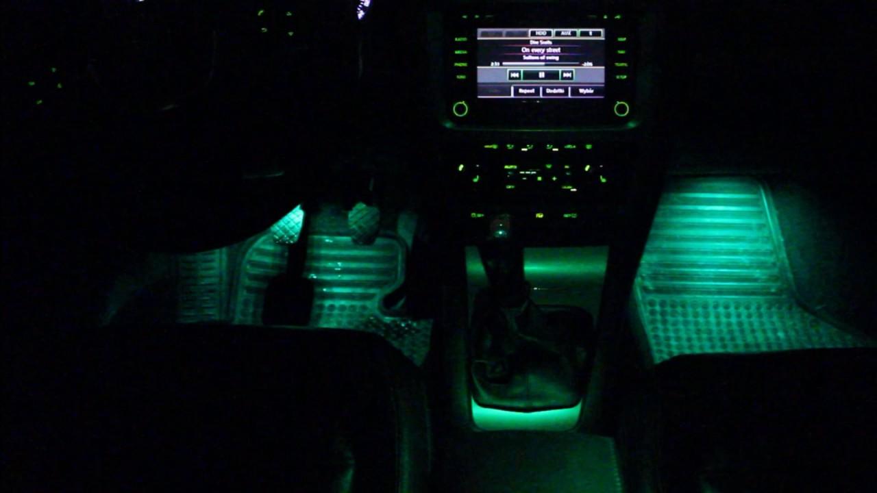 Skoda Octavia Ii Fl Oświetlenie Wnętrza Ambiente