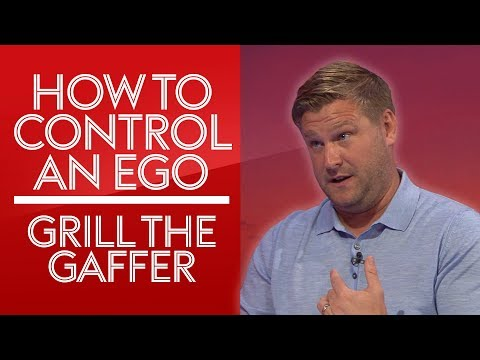 """""""How do you deal with egos in the dressing room?""""   Karl Robinson   #GrillTheGaffer"""