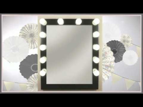 Espejos de camerinos decoracion decoracion com youtube - Decoracion de espejos ...