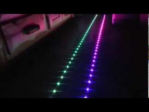 Led Smart Strip Light Battery Operated Remote Control 300 Color