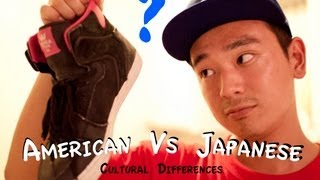 American Vs Japanese - Cultural Differences between Japan and U.S. アメリカと日本の文化の違い