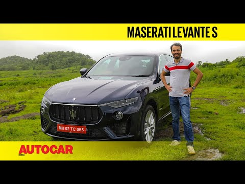 Maserati Levante S review – The exotic SUV with Ferrari-built V6 power | First Drive | Autocar India