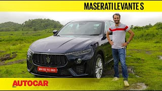 Maserati Levante S review - The exotic SUV with Ferrari-built V6 power | First Drive | Autocar India