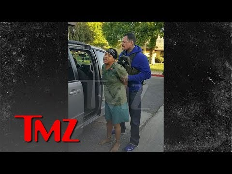Ex-Disney Star Orlando Brown Arrested in His Underwear by Bounty Hunters in Crazy Video   TMZ