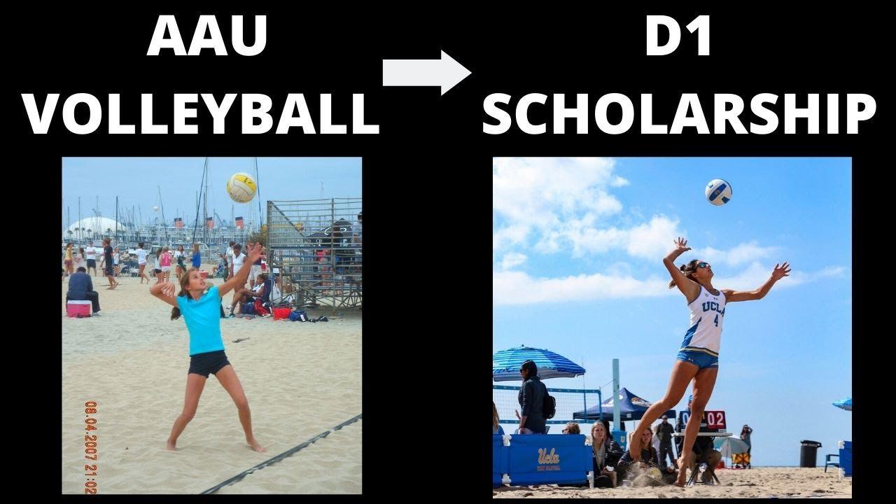 Aau Beach Volleyball To D1 Scholarship Sarah Sponcil