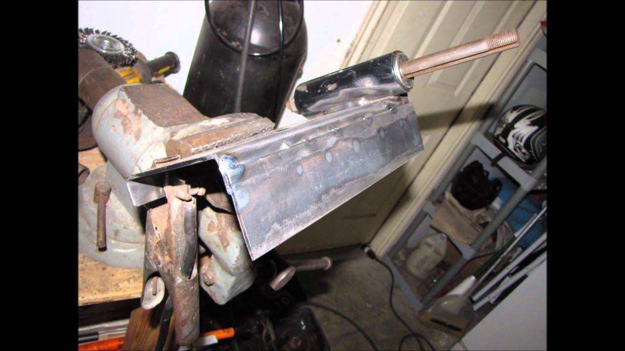 Go Kart Motor Mount and Jackshaft Modification
