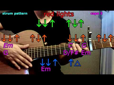 red lights tiesto guitar chords