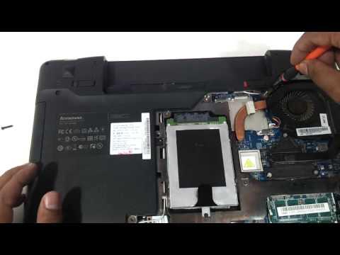 Lenovo z570 how to upgrade the keyboard ram memory harddrive dvdwriter diy
